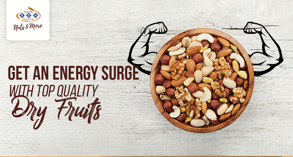 Energy Surge with Top Quality Dry Fruits